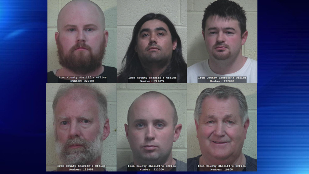 usa six arrested