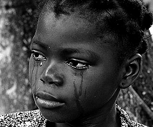 Image result for nigeria child crying