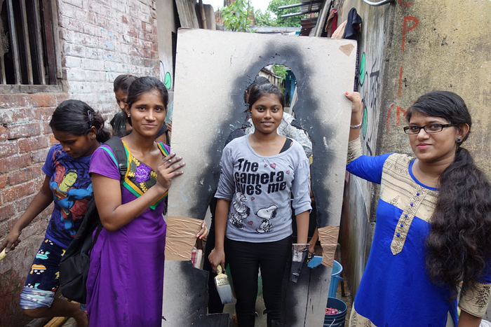 India's Missing art project offers stark reminder of girls taken